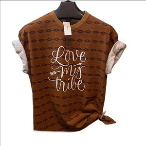 NWT Urban Outfitters TRIBE tee small